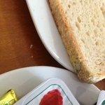 Mouldy gluten free bread