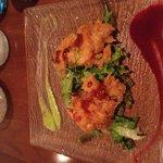 King tempura prawns delicious!