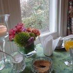 Saturday  Breakfast table