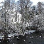 Kirkmichael Village and river