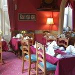 Nice fresh dining room