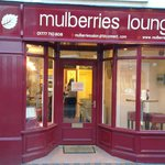 Mulberries Lounge Exterior