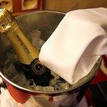 Complimentary champagne up arrival for Platinum Ambassador