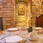 particolare sala colazioni