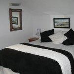 Upstairs double en-suite room