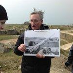Ellwood explains the battle at Pointe du Hoc