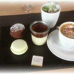 Café gourmand au restaurant 2 mille 3