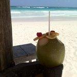 le jus de coco