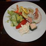 Half Lobster Salad