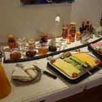 Frühstrücksbuffet (sehr gut)