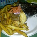 Famous gyro n fries