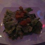 Caesar salad prepared tableside--best salad ever!!