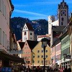 Parte de la ciudad de Füssen