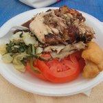 Jerk Chicken from the beach