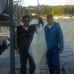 63 lb halibut
