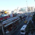 vista da camera 203 su taksim square