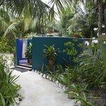wonderful outdoor shower area