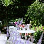 Patio and Top Garden