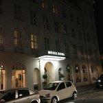 Hotel Borg at Night
