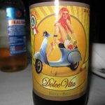 Nice italian beer.