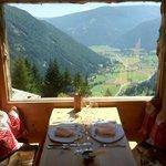 """Panorama dal ristorante """"più piccolo del mondo"""""""