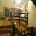 Stairway in the Lodge