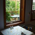 Déjeuner  d'été  terrasse