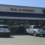 Pak-A-Pocket storefront.