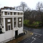 From the 3rd Floor room towards Gordon Square