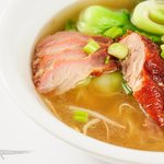Duck + BBQ Pork Noodles