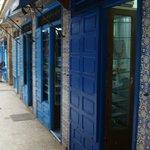 Wonderful shops... best pottery in Morocco