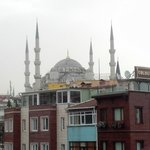 View from Rooftop restaurant-Blue Mosque