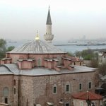 View of Little Hagia Sophia from the Rooftop