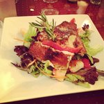 The Blackened Salmon Salad
