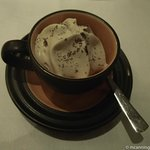 Sambucca sorbet, a must try