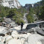 On the way to Nevada Falls