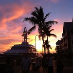 key west sunset with westin hotel on the right