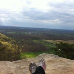 My view from Indian Fort Mountain in early Spring