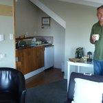 Top floor kitchette & lounge area