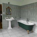 Salle de bains de la chambre Antoinette de Bourbon