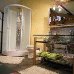 Salle de bains de la chambre Marie Stuart