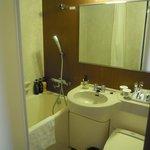 バスルーム バスタブが大きい。