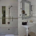 Badezimmersichten Zimmer 8