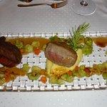 Eland-Filets im Leo's (Gourmet Menü)