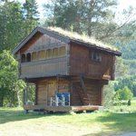 Flateland Camping log house for rent