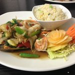 Seafood Stir-fry