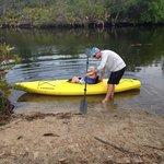 Launching on Alligator Creek