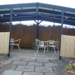 Outside Eating Area (Weather Permitting)