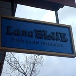 Luna Blue Sign