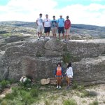 pequeño montículo de rocas